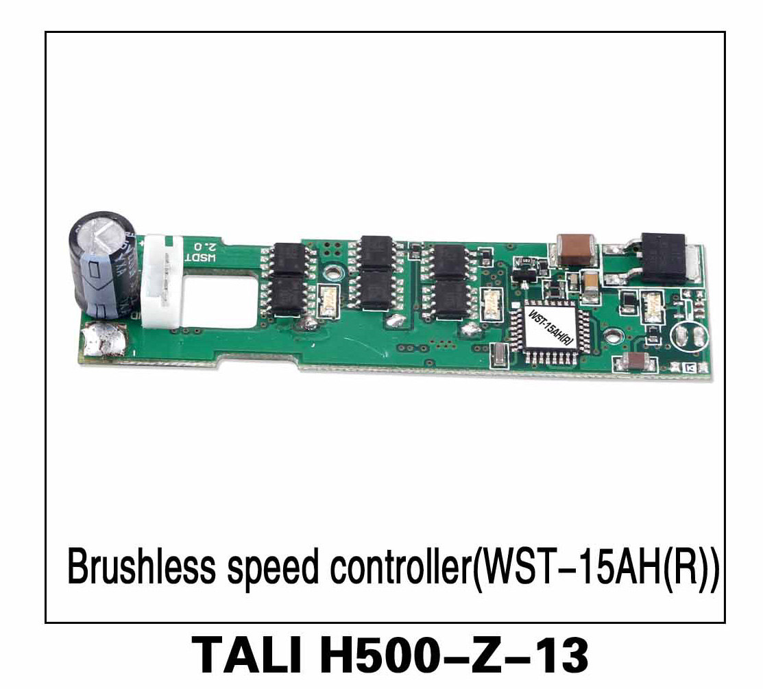Walkera parts, RC Helicopter, RC hexacopter, GPS FPV Drone, Tali H500 Accessories H500-Z-13 Brushless Speed Controller ESC (WST-15AH(R))