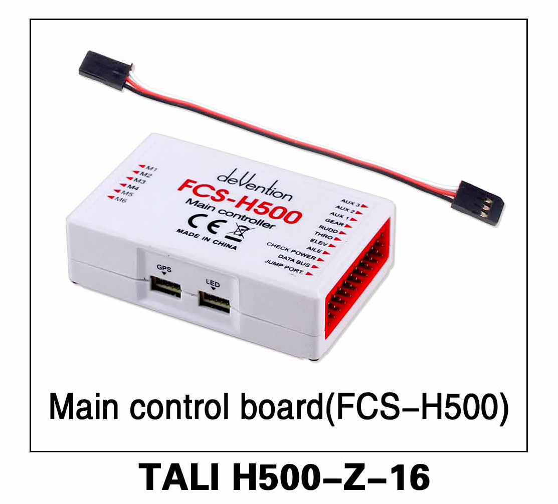 Walkera parts, RC Helicopter, RC hexacopter, GPS FPV Drone, Tali H500 Accessories H500-Z-16 Main Control board (FCS-H500)