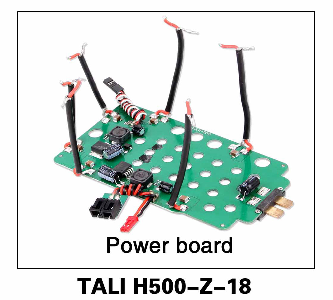 Walkera parts, RC Helicopter, RC hexacopter, GPS FPV Drone, Tali H500 Accessories H500-Z-18 Power Board