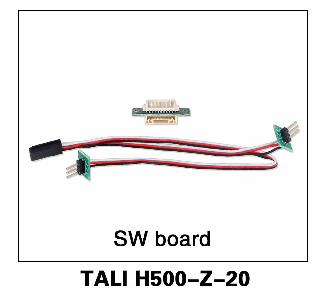Walkera parts, RC Helicopter, RC hexacopter, GPS FPV Drone, Tali H500 Accessories H500-Z-20 SW Board