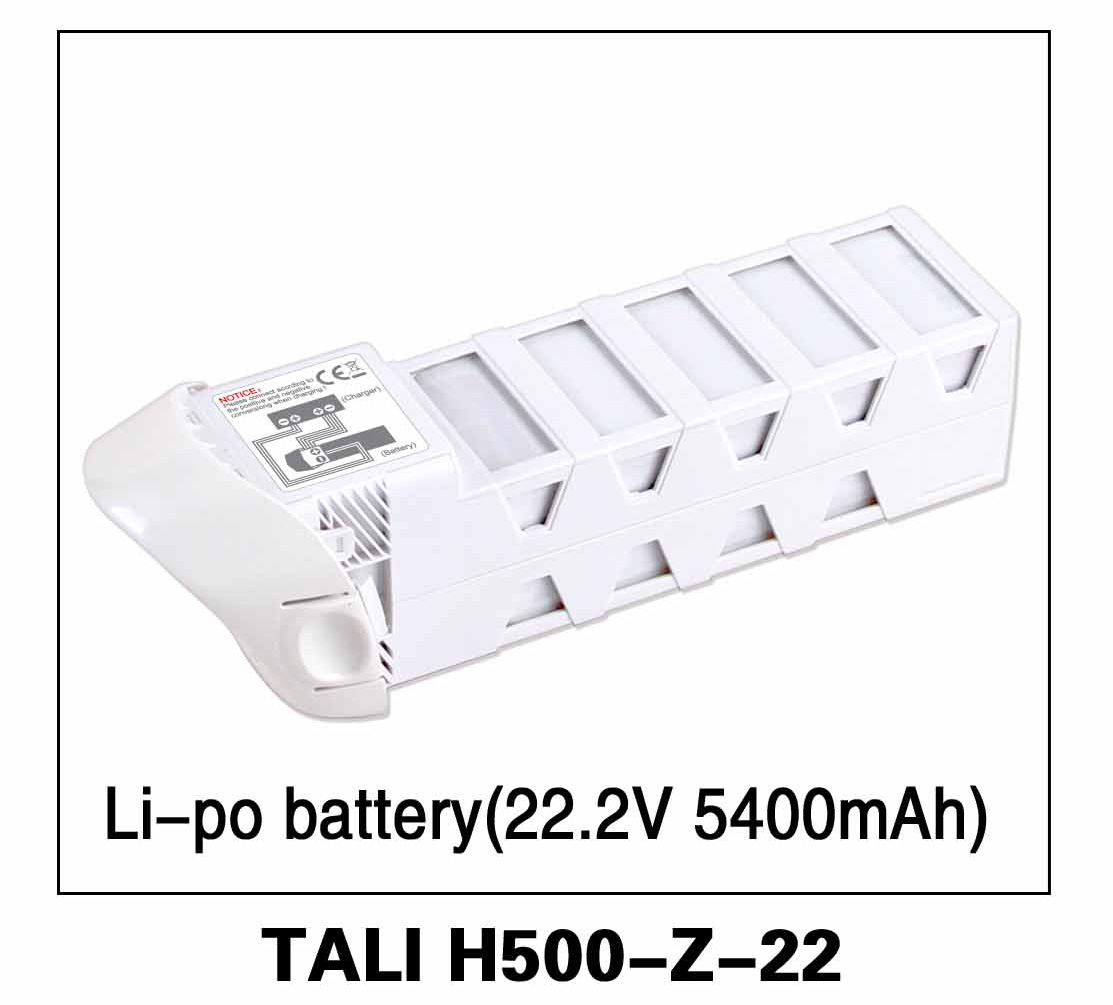 Walkera parts, RC Helicopter, RC hexacopter, GPS FPV Drone, Tali H500 Accessories H500-Z-22 Li-Po battery 22.2V 5400mAh