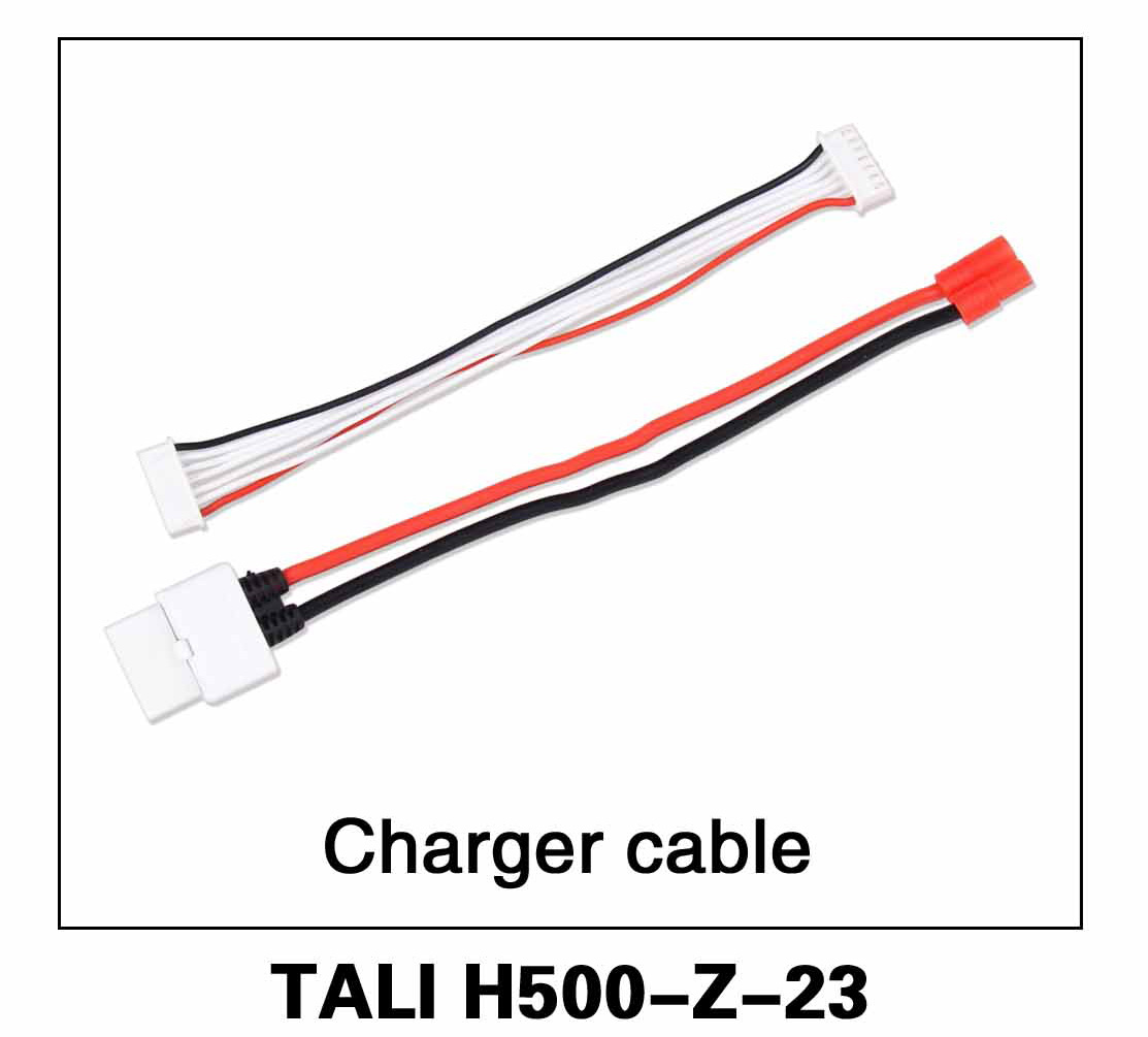 Walkera parts, RC Helicopter, RC hexacopter, GPS FPV Drone, Tali H500 Accessories H500-Z-23 Charger Cable