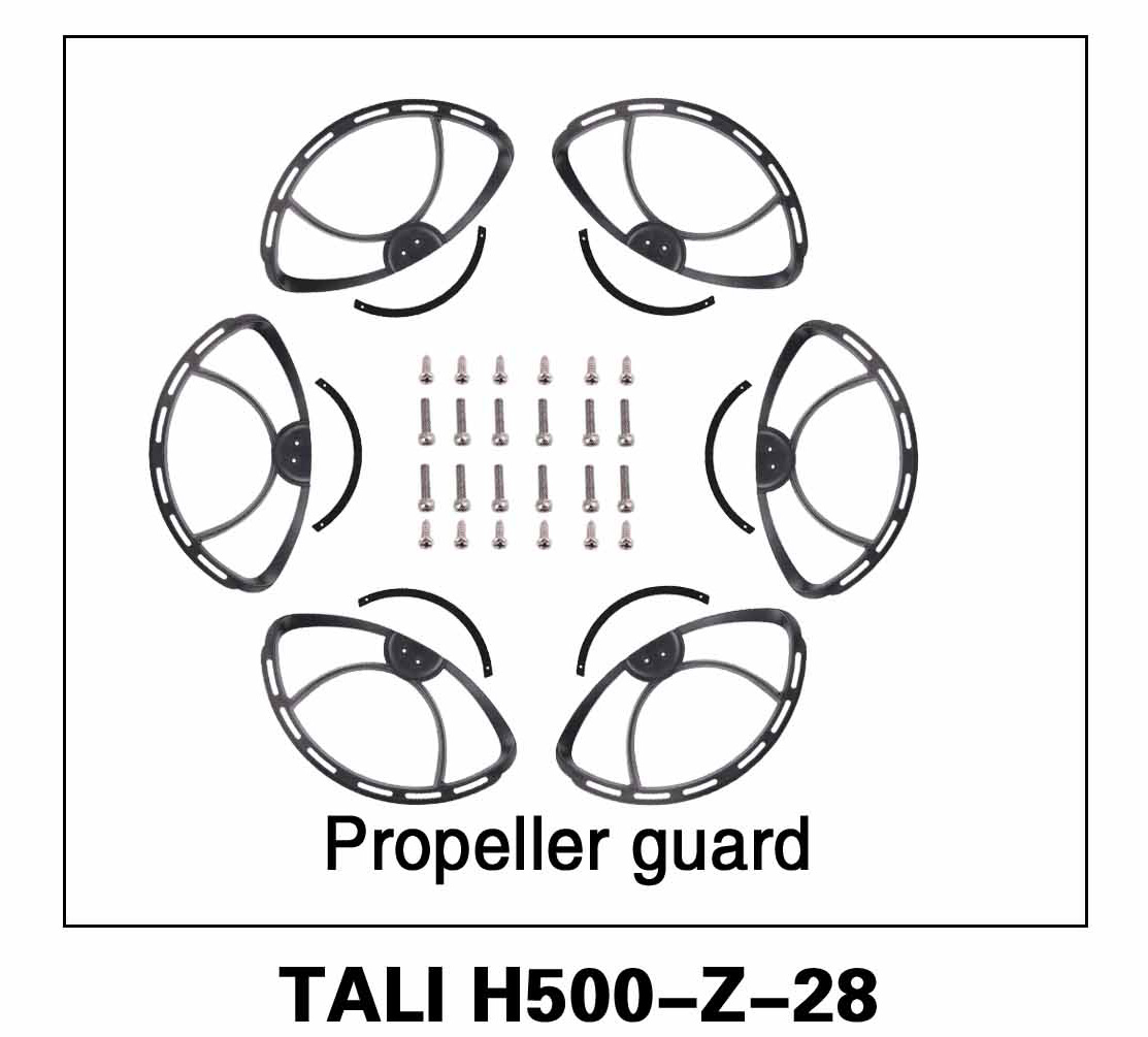 Walkera parts, RC Helicopter, RC hexacopter, GPS FPV Drone, Tali H500 Accessories H500-Z-28 Propeller Guard