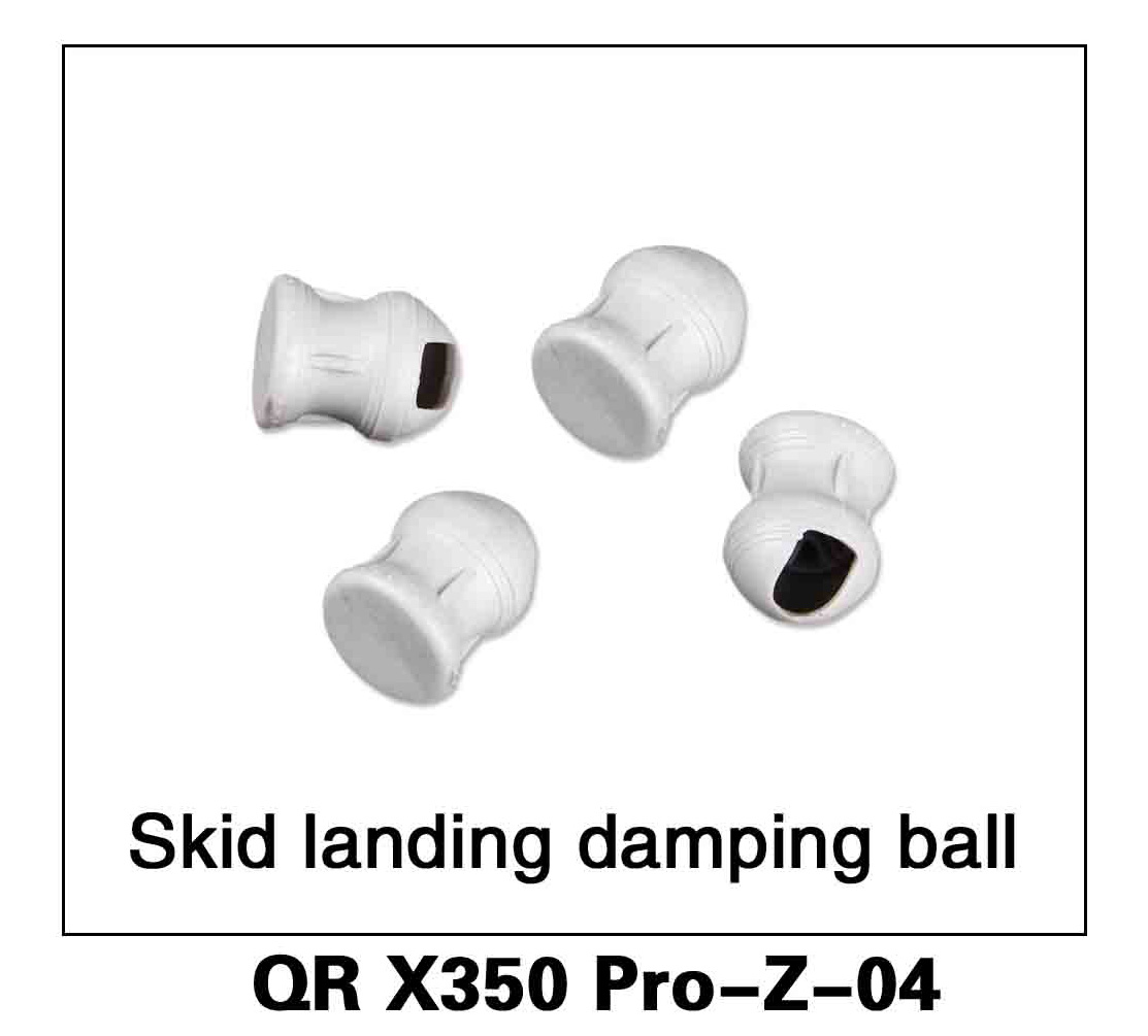 Walkera RC Model, RC Helicopter, RC Quadrocopter, FPV Drone, QR X350 PRO PRO-Z-04 skid landing Damping ball Spare parts