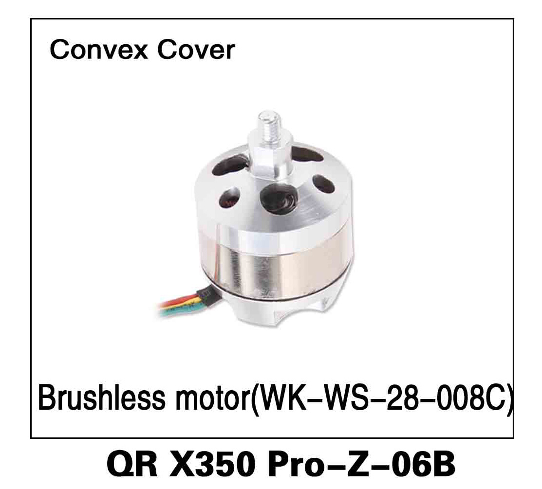 Walkera RC Model, RC Helicopter, RC Quadrocopter, FPV Drone, QR X350 PRO PRO-Z-06B Convex Cover Brushless Motor WK-WS-28-008C Spare parts