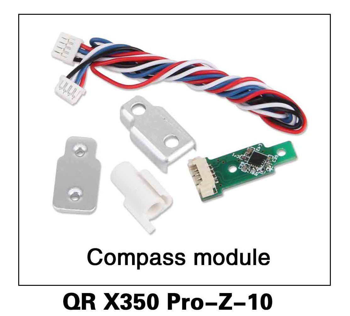 Walkera RC Model, RC Helicopter, RC Quadrocopter, FPV Drone, QR X350 PRO PRO-Z-10 Compass module Spare parts