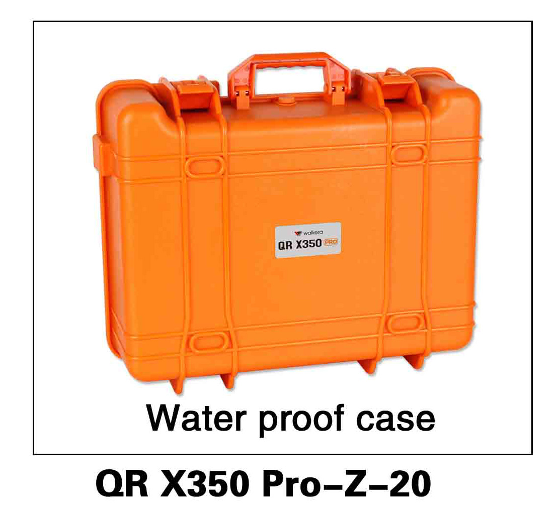 Walkera RC Model, RC Helicopter, RC Quadrocopter, FPV Drone, QR X350 PRO PRO-Z-20 Waterproof case Spare parts