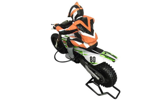 X-Rider RC Motocross, 1/4 Scale Model Motorcycle, 2.4G Radio Control Off Road Dirt Bike, RTR Electirc BX4003 Motorcycle Toy.