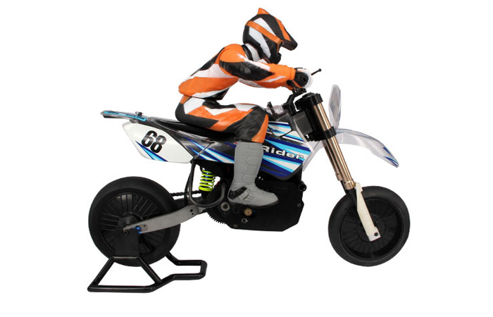 X-Rider RC Racing Motorbike, 1/4 Scale Model Motorcycle, 2.4G Radio Control On Road Moto Bike, RTR Electirc BX4004  Motorcycle Toy.