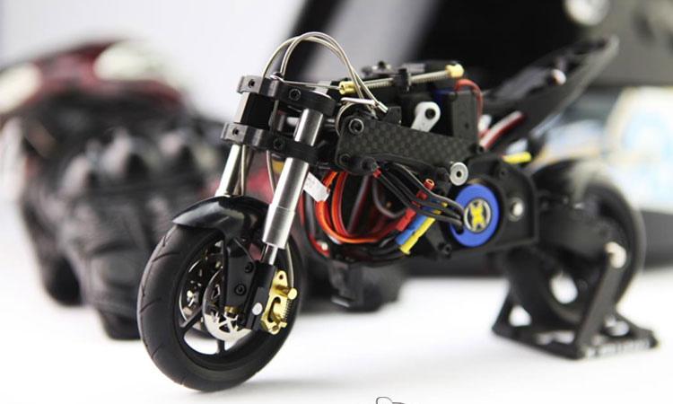 X-Rider RC Motocross, CX3-II T20 1/10 Scale Model Motorcycle, 2.4G Radio Control On Road Scooter, RTR Electirc Brushless.